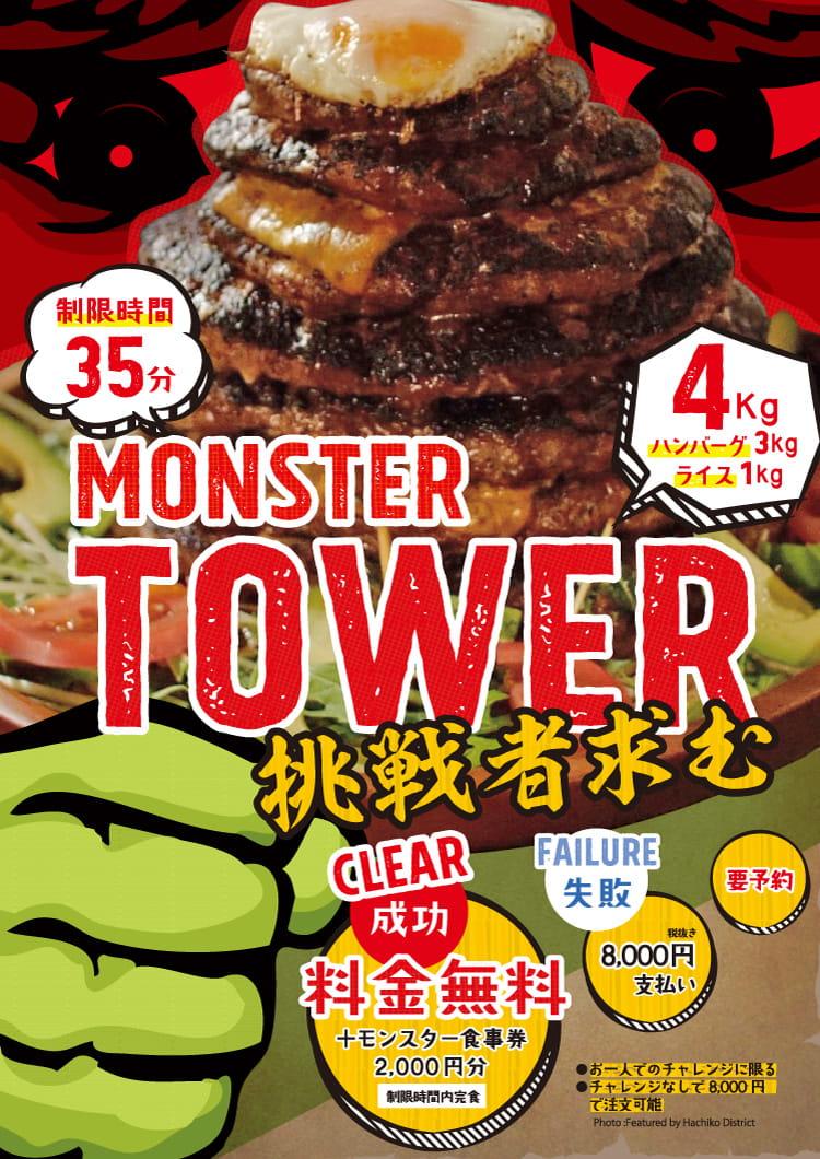 MONTER TOWER挑戦者求む(制限時間:35分)